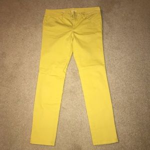 Yellow Jeans from Loft